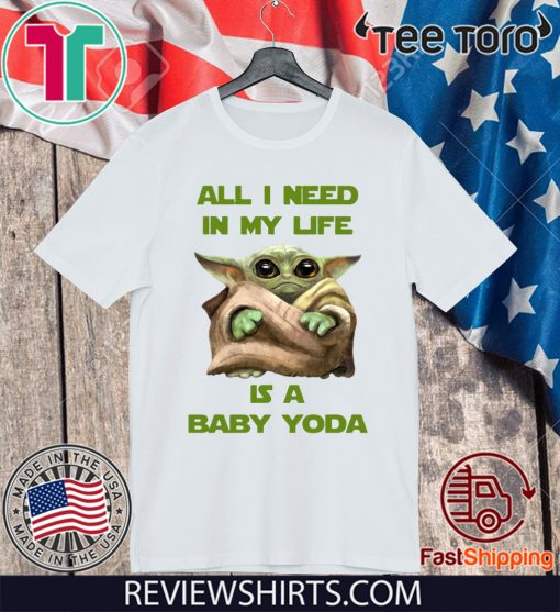 All I Need In My Life Is A Baby Yoda For 2020 T-Shirt