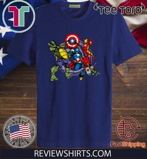 Teenage Mutant Ninja Turtles T-Shirt Avenging Turtles