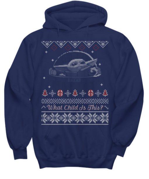 Baby Yoda Ugly Christmas hoodies - Baby Yoda Ugly Christmas swrater