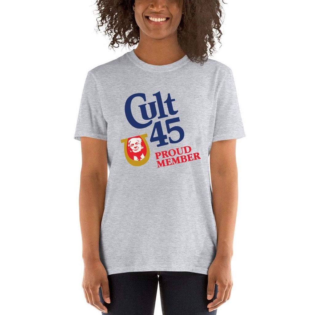 Offcial Cult 45 Proud Member Trump Tee Shirt