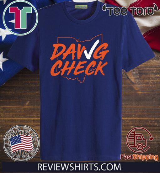Dawg Check Shirt - Cleveland Brown OBJ T-Shirt