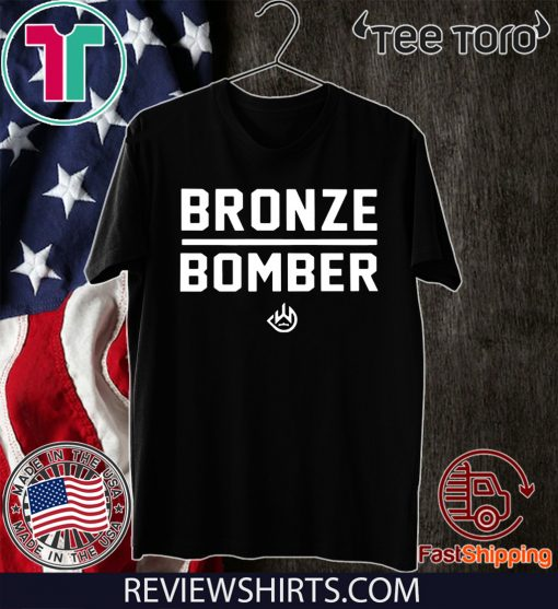 Deontay Wilder Bronze Bomber Heavy Weight 2020 T-Shirt