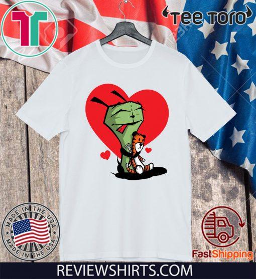 Gir and Hobbes Shirt - Invader Zim 2020 T-Shirt