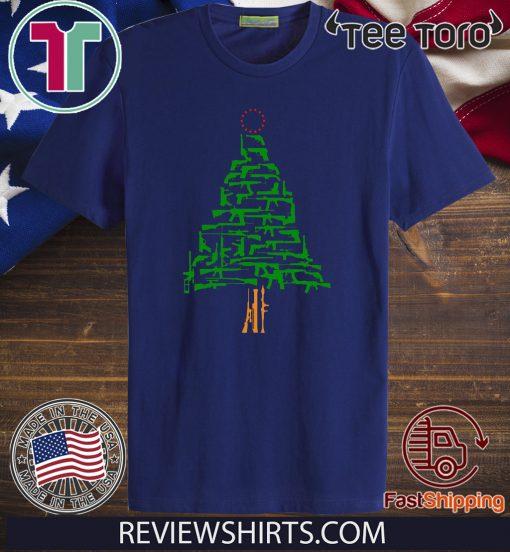 Offcial Guns Christmas Tree T-Shirt