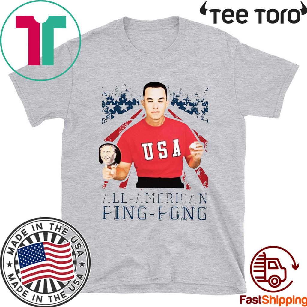 American flag shirt guy forrest gump Tee Shirt