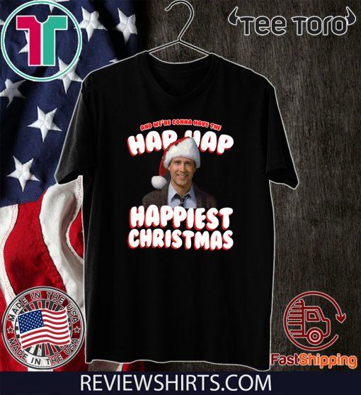 Hap Hap Happiest Christmas Vacation Offcial T-Shirt