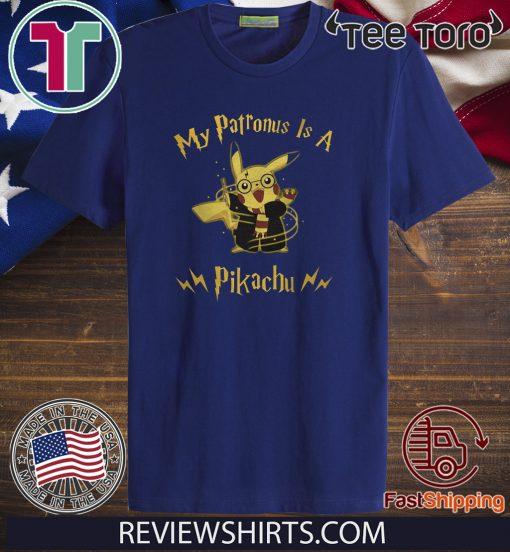 Harry Potter My Patronus is a Pikachu Funny T-Shirt