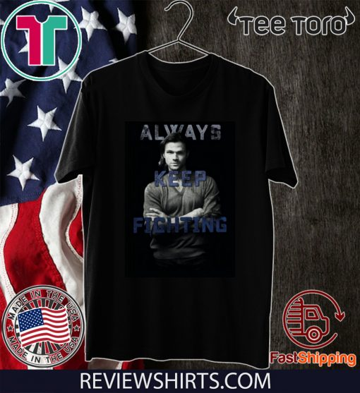 Jared Padalecki's AKF Relaunch T-Shirt