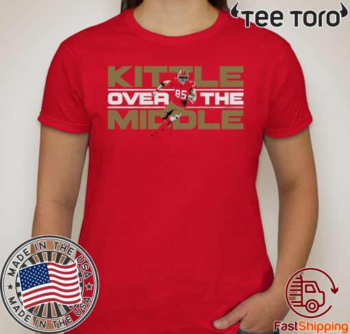 Kittle Over The Middle Offcial T-Shirt