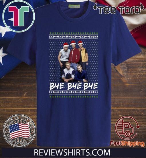 NSYNC Bye bye bye ugly Christmas 2020 T Shirt