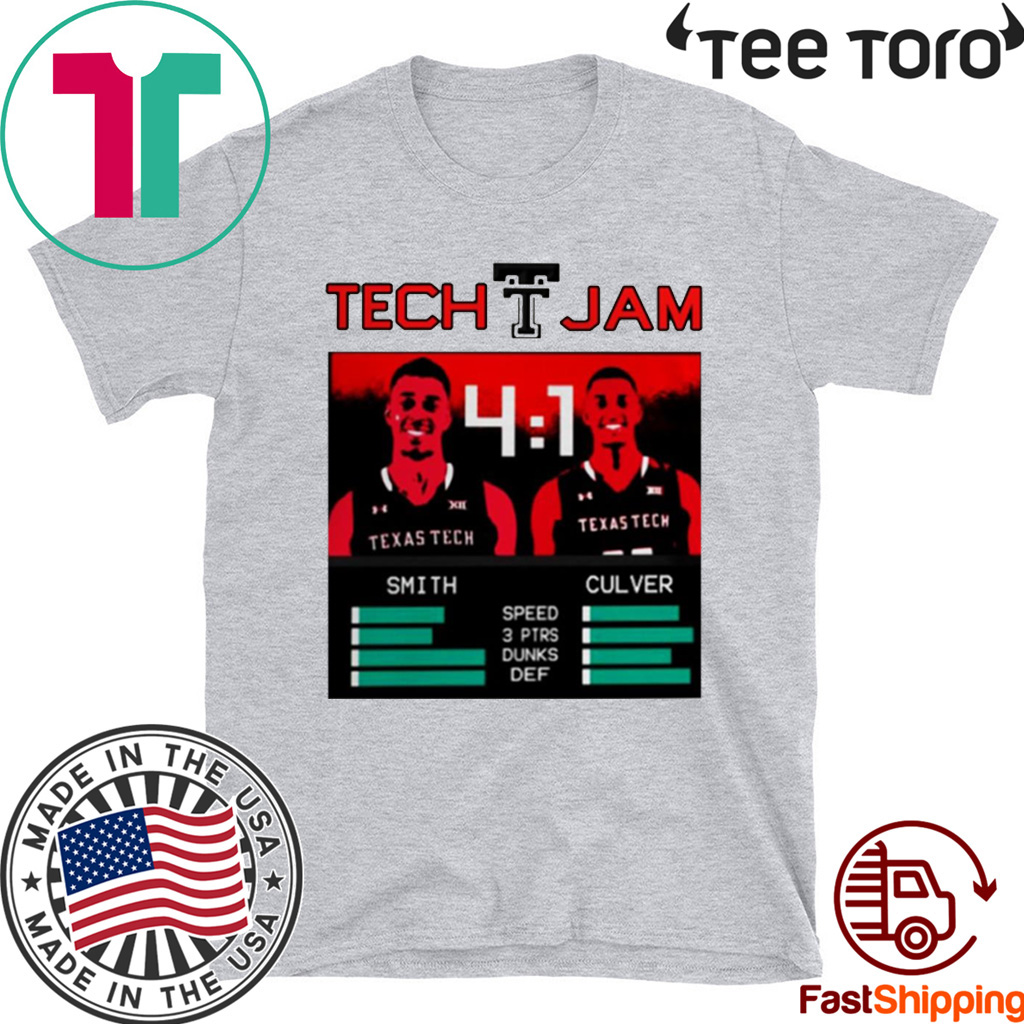 Tech Jam Smith And Culver Shirt - Limited Edition