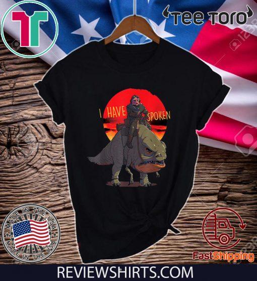 The Mandalorian Kuiil Blurrg I Have Spoken Classic T-Shirt