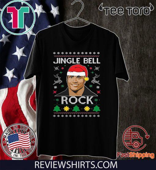 The Rock Jingle Bell Ugly Christmas T-Shirt