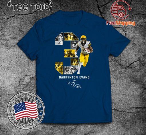 03 Darrynton Evans Signature Shirt T-Shirt