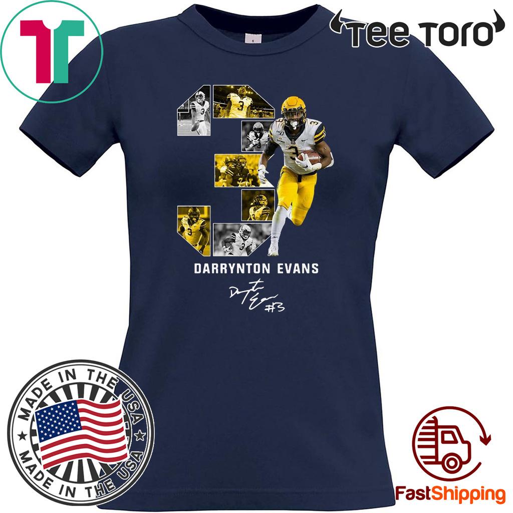 03 Darrynton Evans Signature Unisex T-Shirt