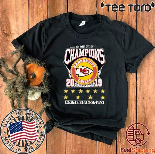 AFC West Division Champions 2019 T-Shirt