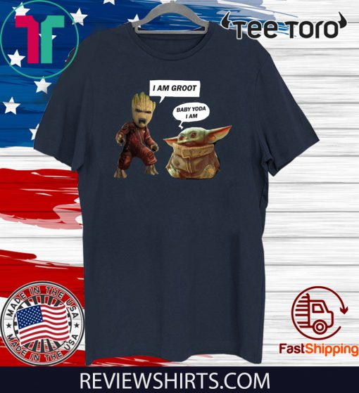 Baby Groot and Baby Yoda Shirt T-Shirt