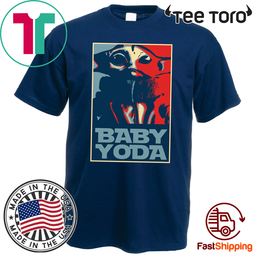 Baby Yoda Hope Poster Offcial T-Shirt