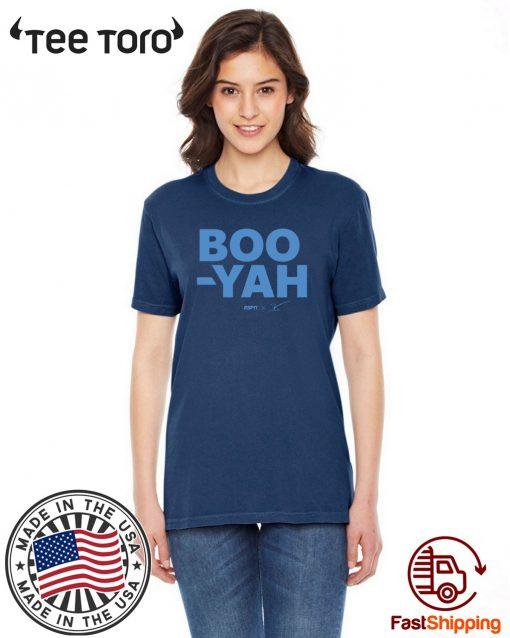 Boo Yah Stuart Scott Tee Shirts