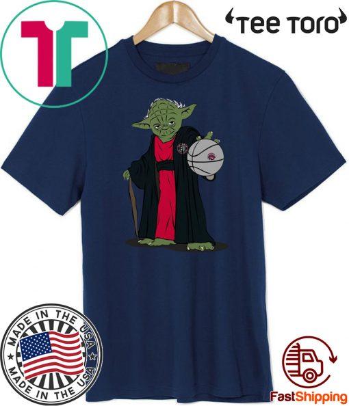 Master Yoda Toronto Raptors Shirts