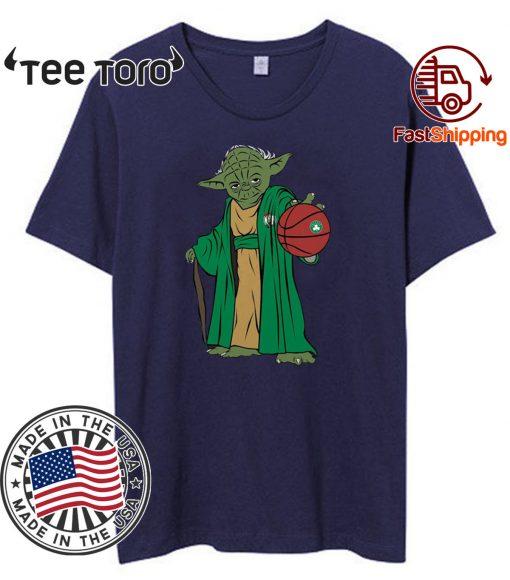 Master Yoda Boston Celtics Shirts