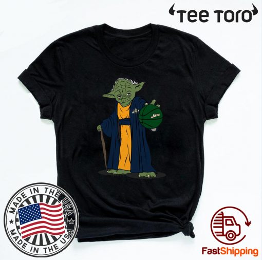 Master Yoda Utah Jazz Unisex T-Shirt