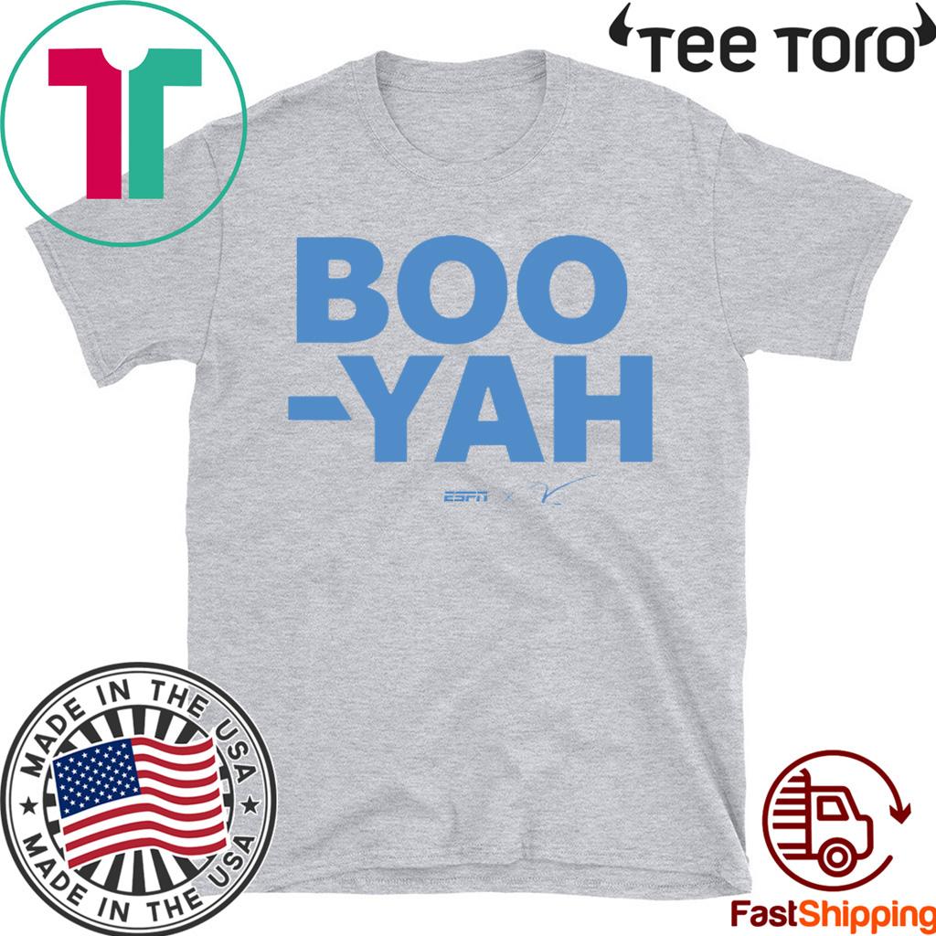 Stuart Scott Boo Yah t-shirts