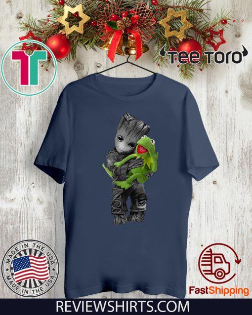 Baby Groot Hug Frog Classic T-Shirt