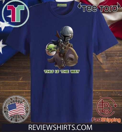 Baby Yoda And Jaster Mereel This Is The Way Shirts