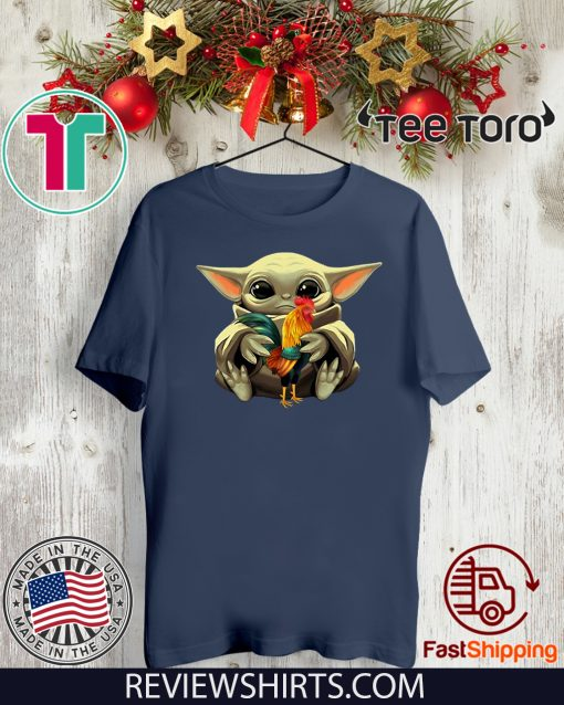 Baby Yoda Hug Caregiver Shirts