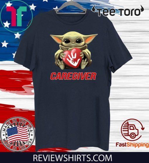 Baby Yoda Hug Caregiver Unisex T-Shirt