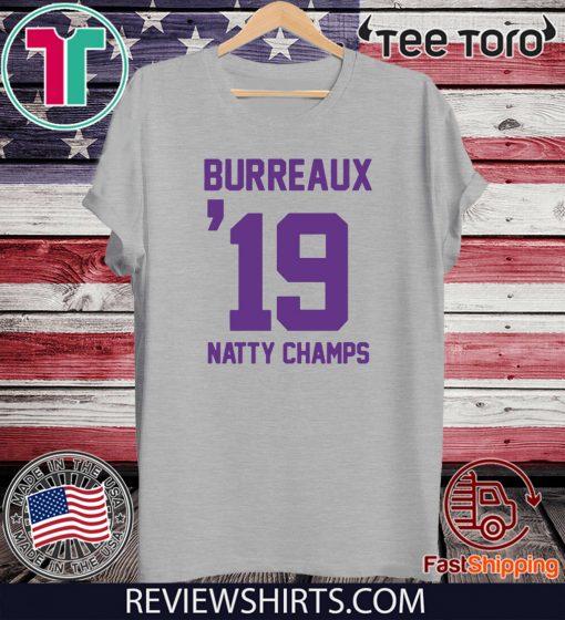 Burreaux Natty Champs T Shirt