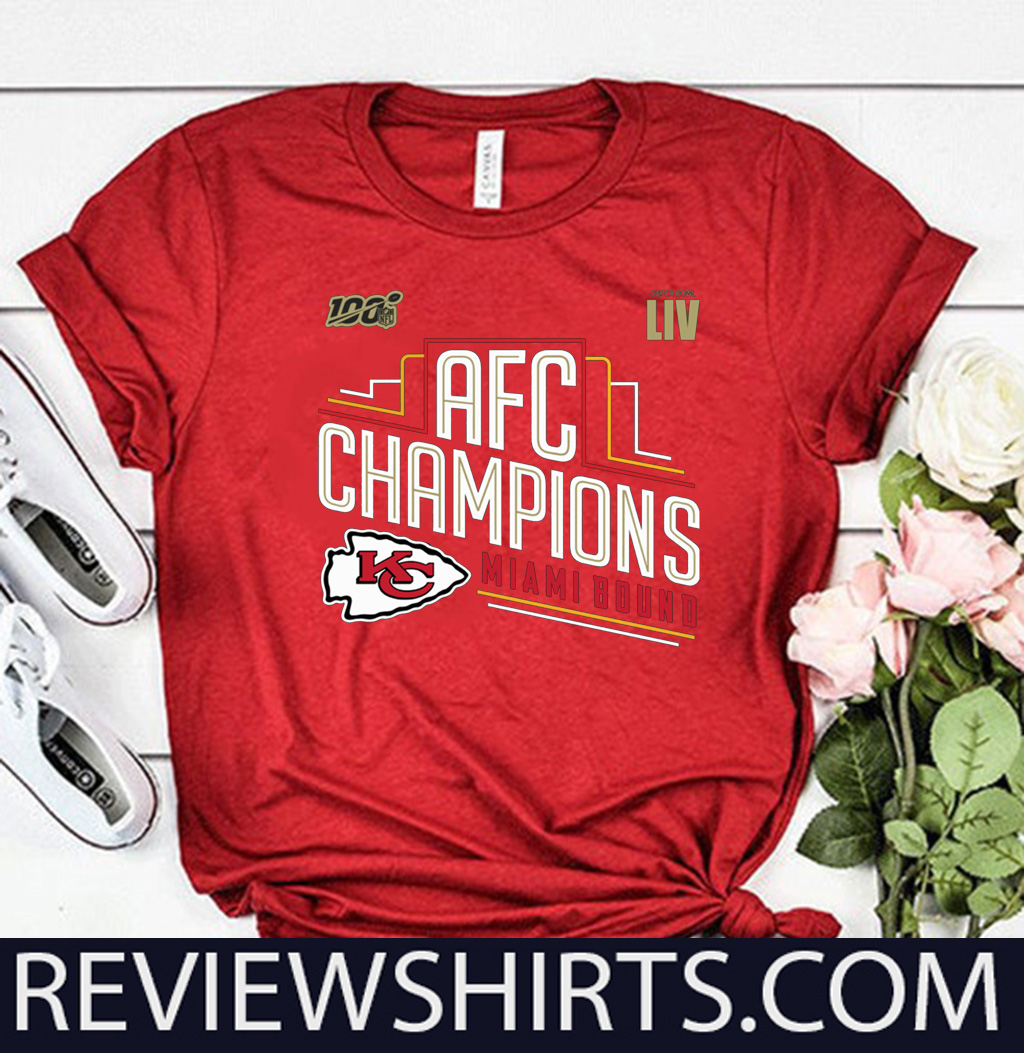 Original Kansas City Chiefs 2019 AFC Champions T-Shirt