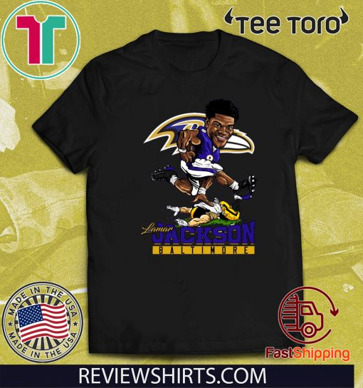 Lamar Jackson Baltimore Ravens Official T-Shirt