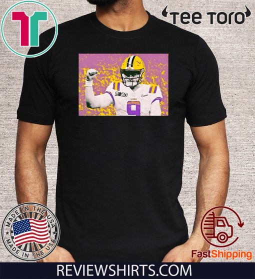 LSU Is The National Champion And Joe Burrow's Legend For T-Shirt
