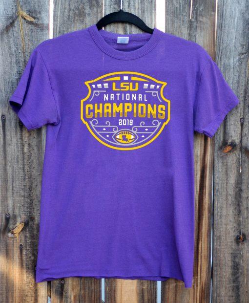 LSU Tigers National Championship 2020 T-Shirt - Limited Edition
