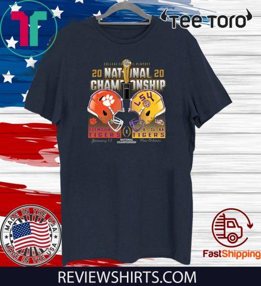 LSU Tigers Clashing National Champ T Shirt
