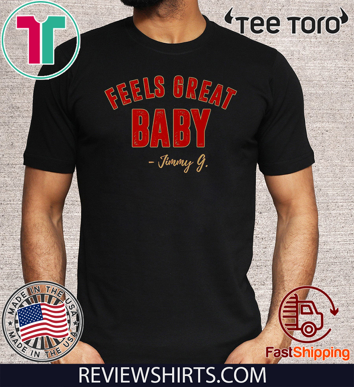 San Francisco Distressed Football Feels Shirt - Great Baby Jimmy G Premium T-Shirt