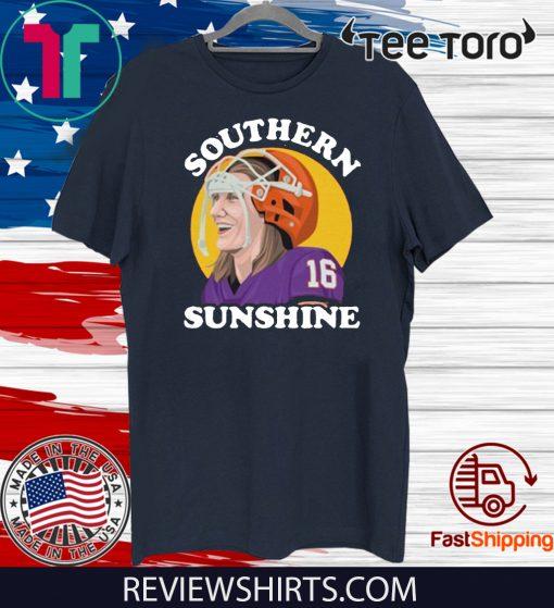 Tigers Fans Southern Sunshine South Carolina Football Champs 16 T-Shirt