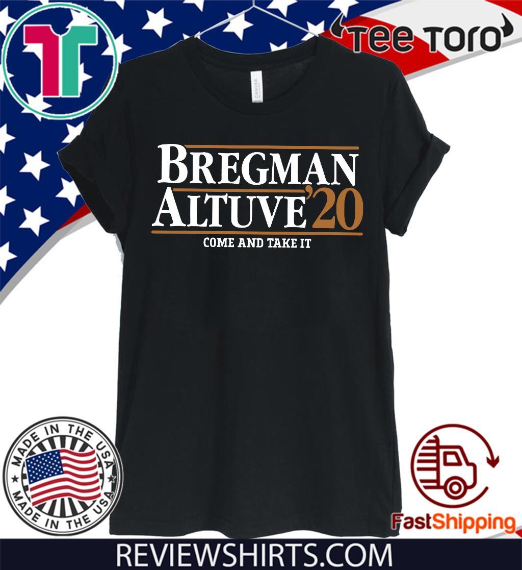 Bregman Altuve 2020 Shirt - Houston T-Shirt