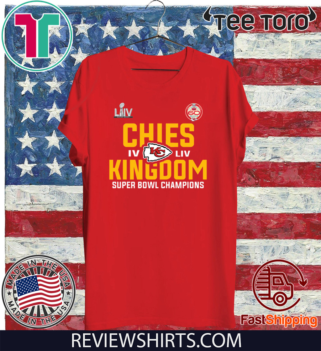 Chiefs Super Bowl Championship 2020 T-Shirt