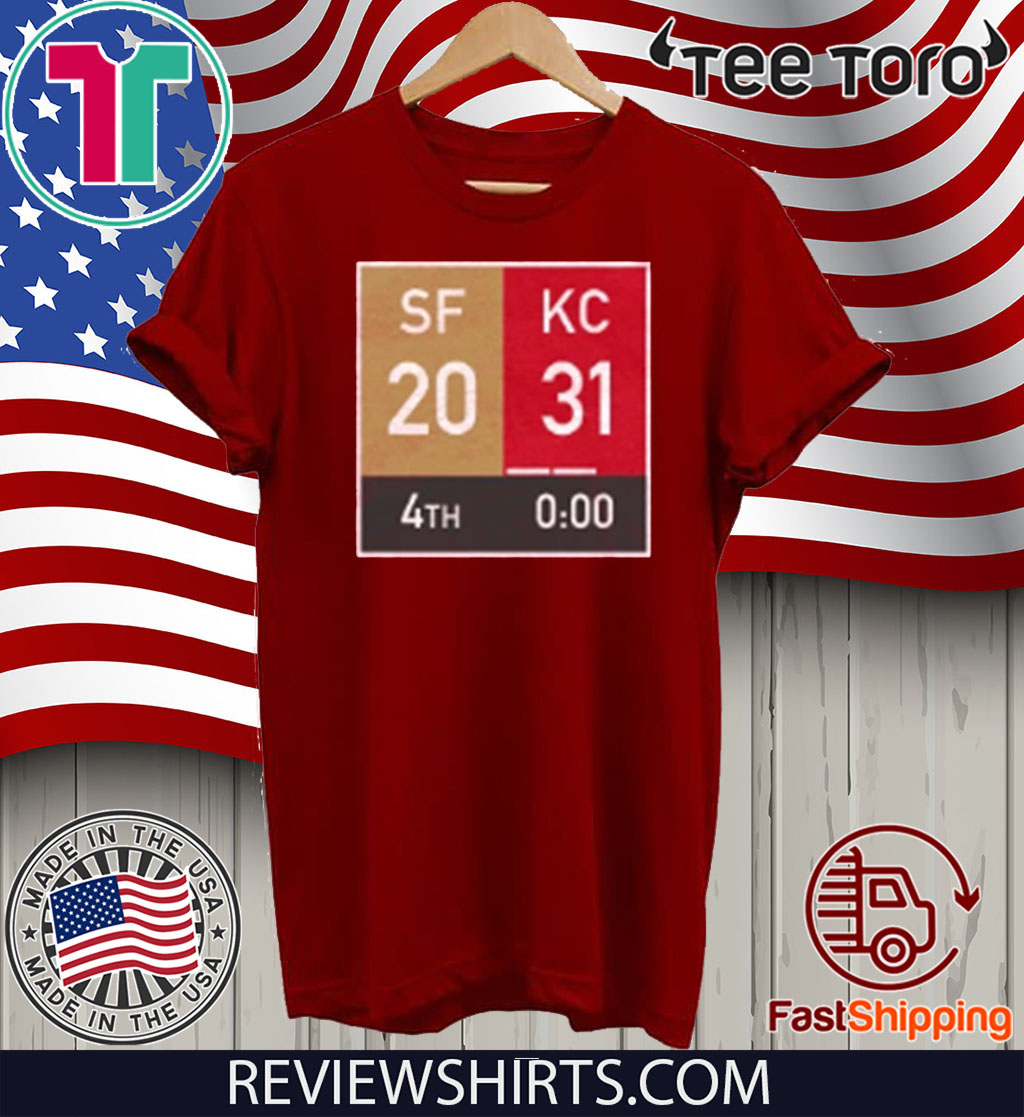 Comeback KC Champs 2020 T-Shirt