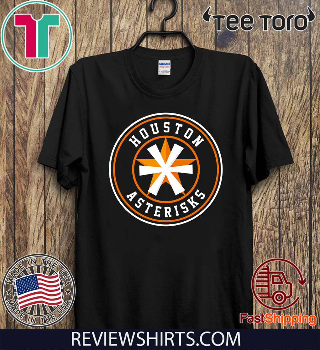 Houston Asterisks Tee Shirts
