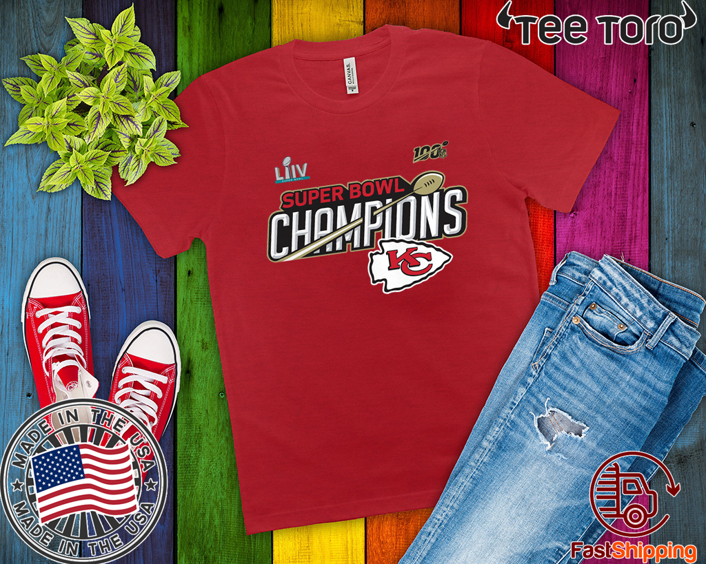 Kansas City Chiefs Super Bowl LIV Champions Trophy Funny T-Shirt