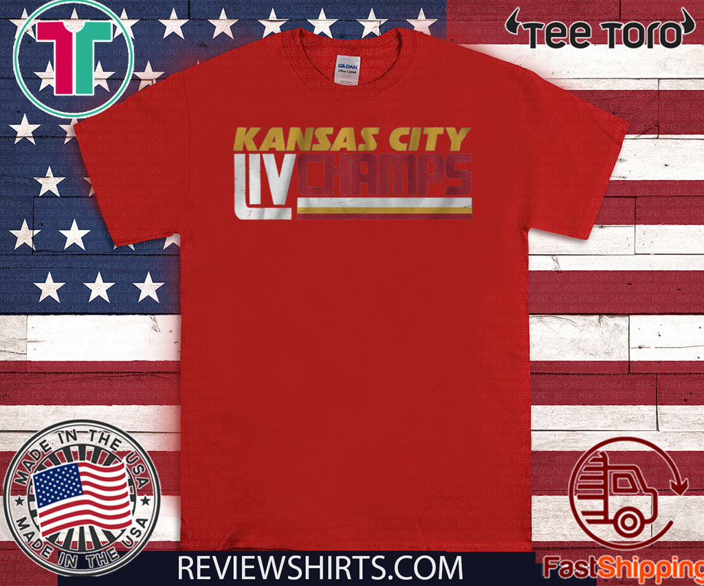 Kansas City LIV Champs T-Shirt Kansas City Football