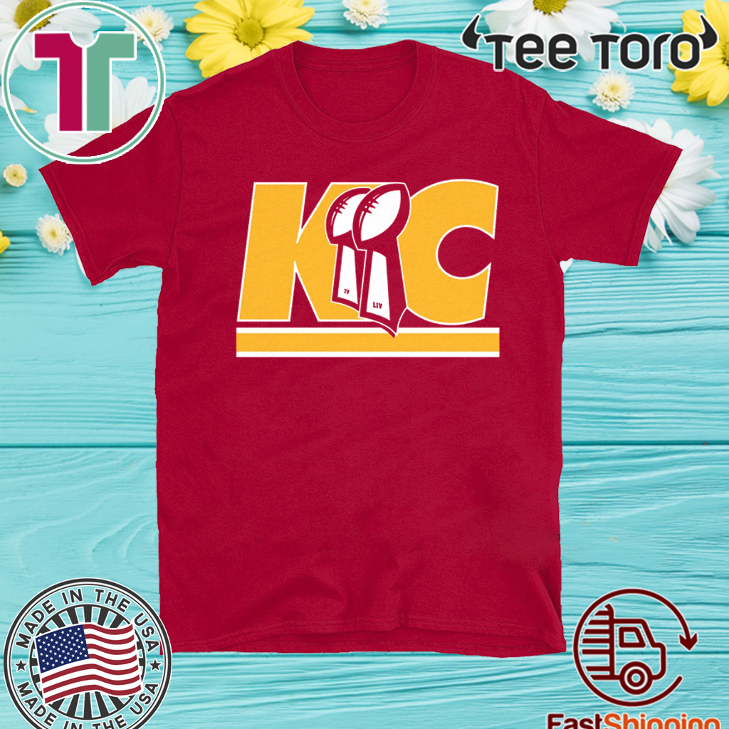 Kansas City Trophies Tee Shirt - Kansas City Football