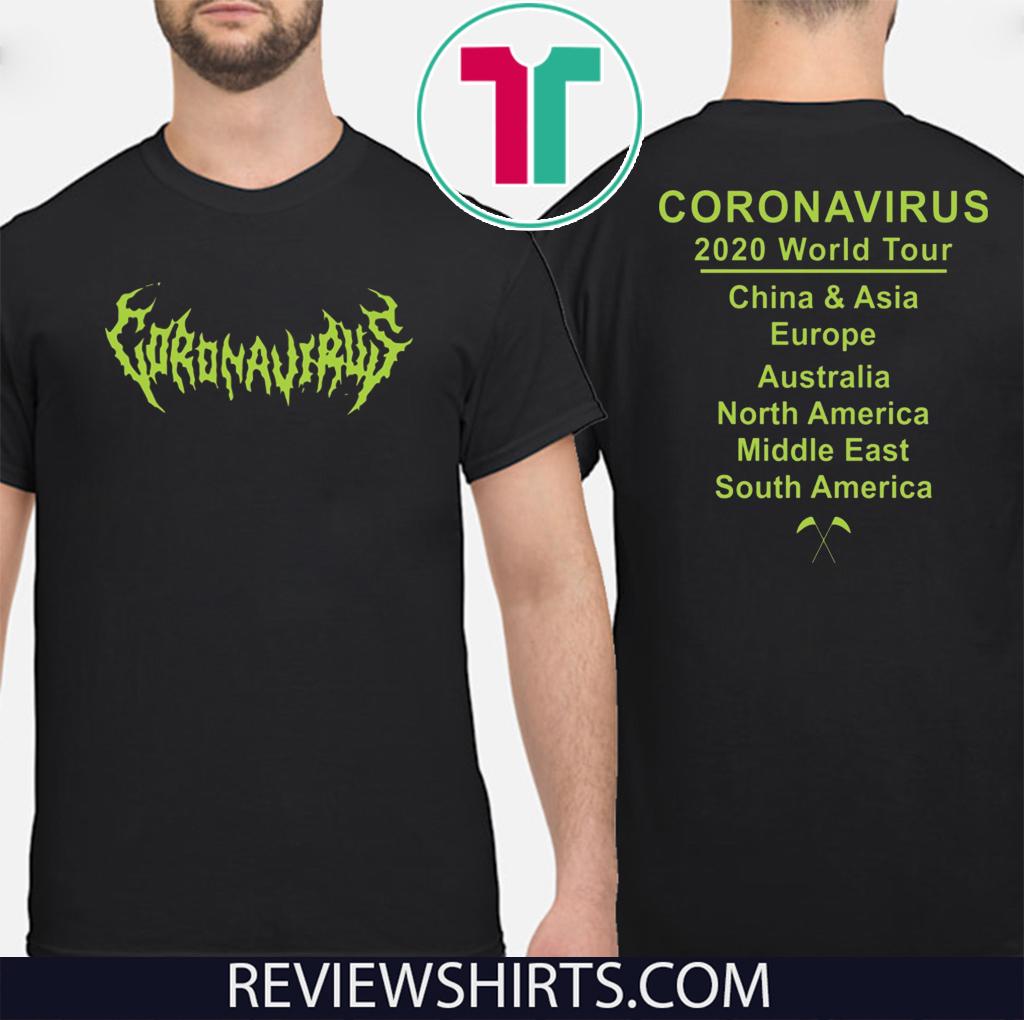 Coronavirus World tour For T-Shirt