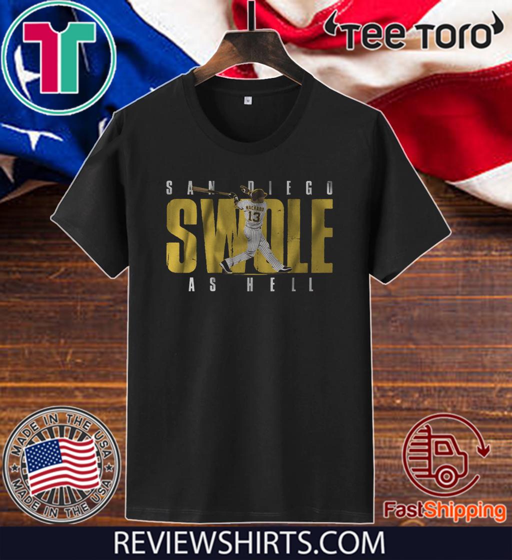 Manny Machado Shirt - Swole Diego T-Shirt