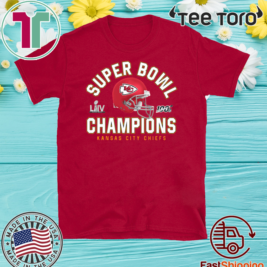 Super Bowl Champions Chiefs Official T-Shirt