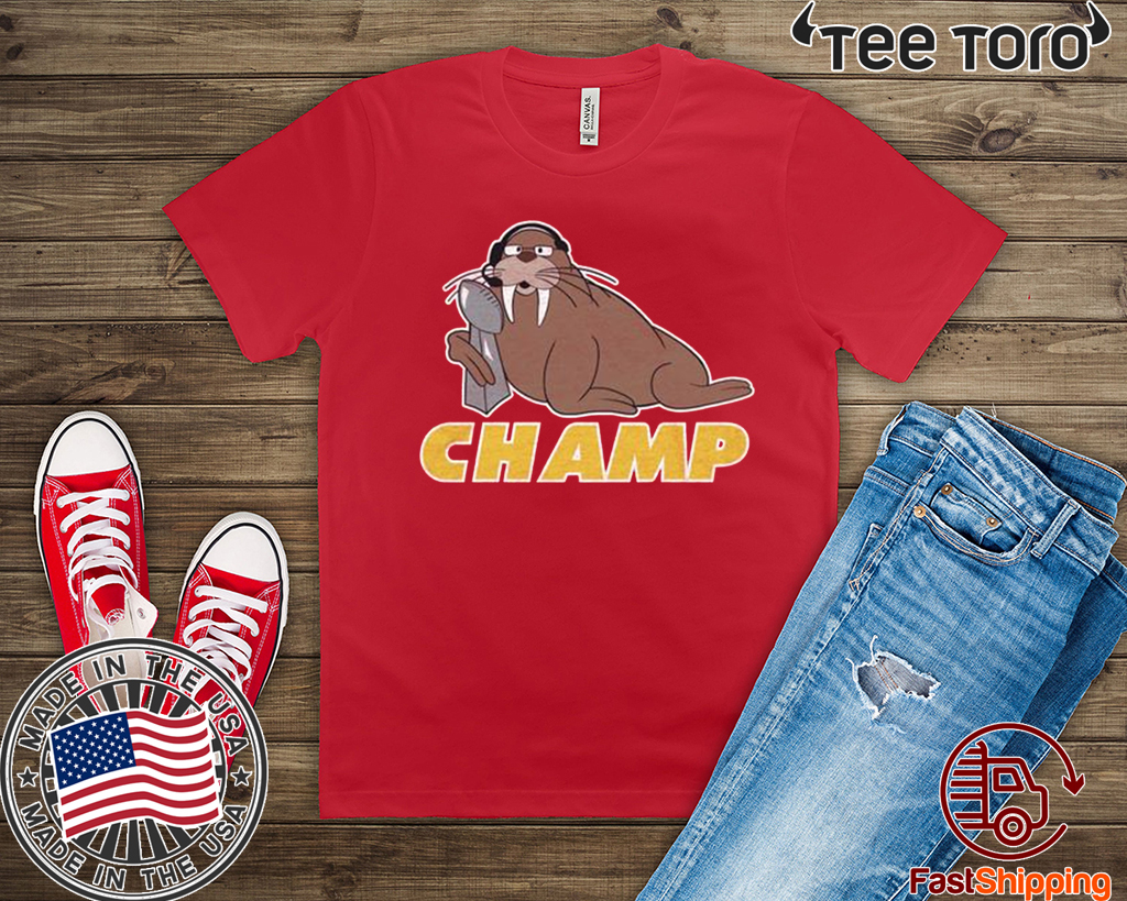 Walrus Trophy Champ Shirt